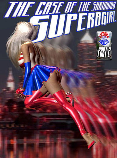 The case of the shrinking Superbgirl – 2