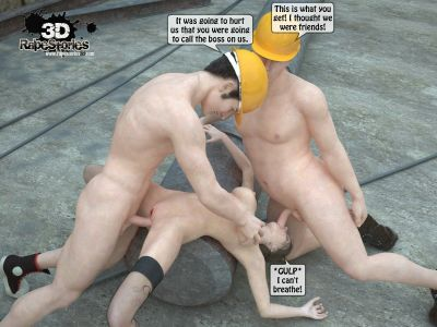 Two workers rape the chief woman- 3DStories - part 3