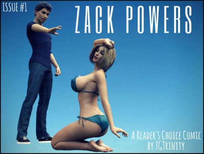 Zack Powers Issue 1-13